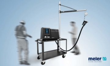 Meler Trolley: health and safety working with adhesive application systems