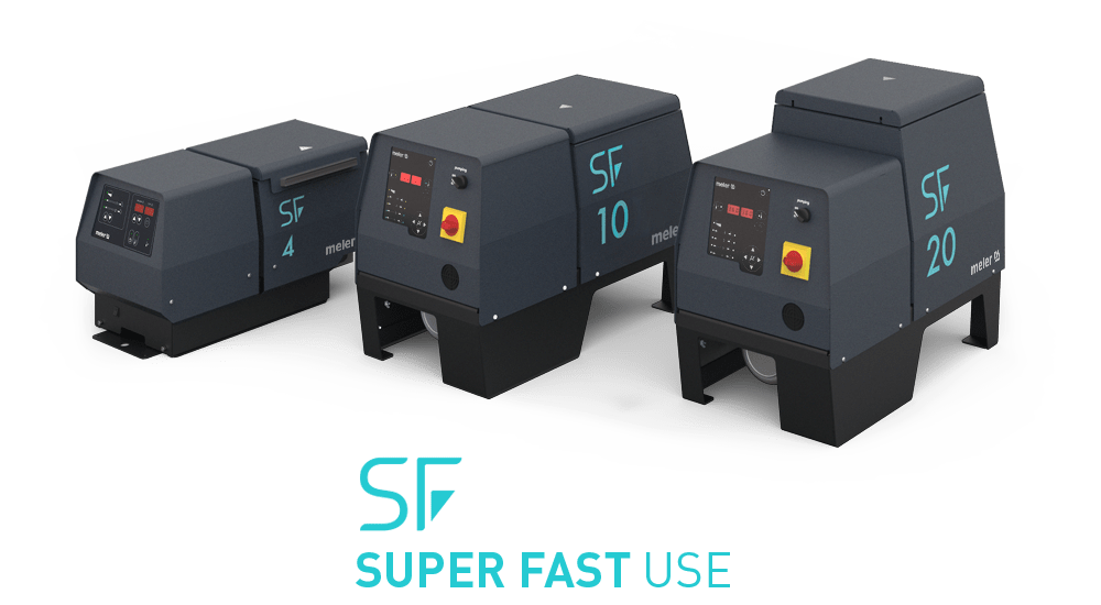 Do your melters work with SUPER FAST USE?