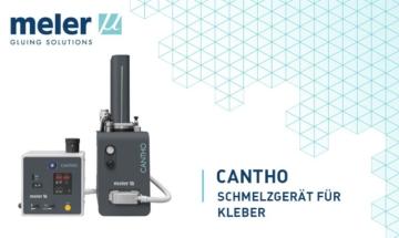 Cantho, Schmelzgerät für hochviskosen Kleber