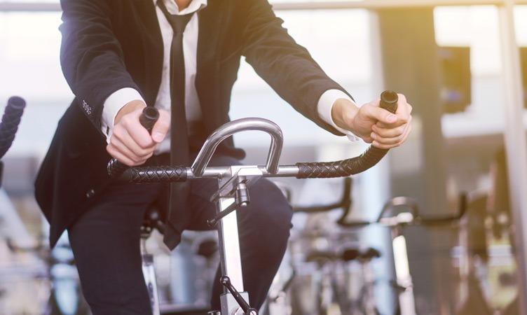 Der neue Firmensitz wird ein Gym und Fitnessgeräte haben