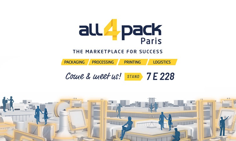 Wir beenden die Messesaison Meler 2018 in Paris: All4pack
