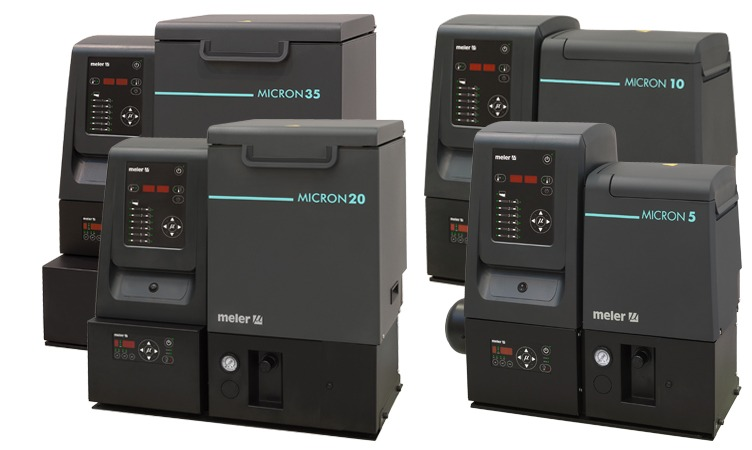 New series of Micron gear melters