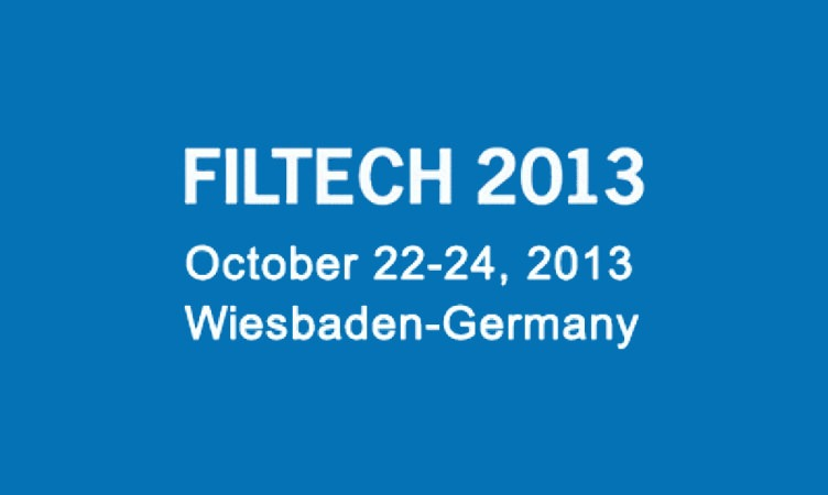 Come and visit us! Filtech 2013