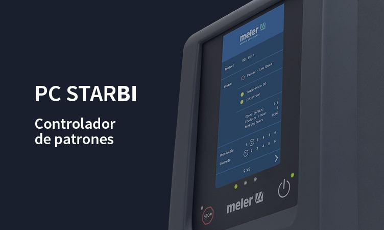 PC StarBI: el nuevo controlador de patrones Meler con pantalla táctil