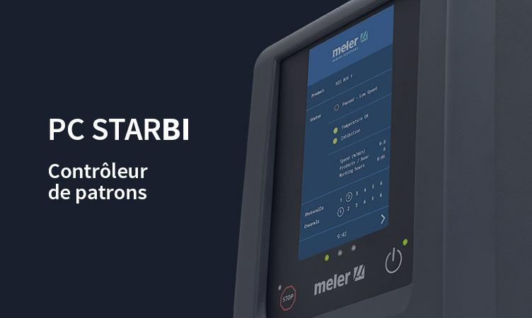 PC StarBI: le nouveau contrôleur de patrons Meler à écran tactile