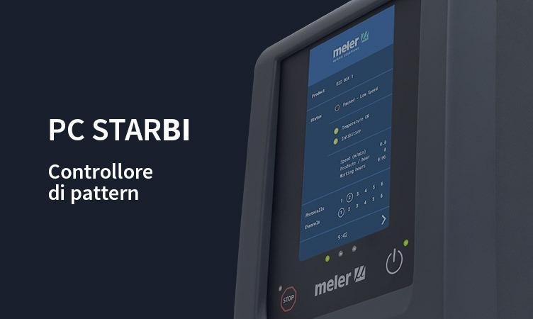 PC StarBI: il nuovo controllore di pattern Meler con schermo tattile
