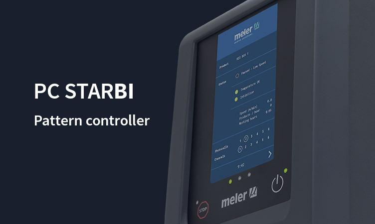 PC StarBI: der neue Pattern Controller von Meler mit Touchscreen