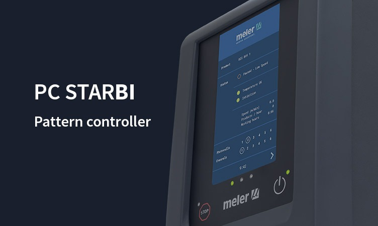 PC StarBI: the new Meler pattern controller with a touchscreen