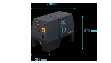SF 10 Melter Meler dimensions