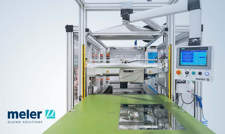Save production space with Meler's coating rollers